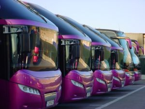 Bus tours on Crete