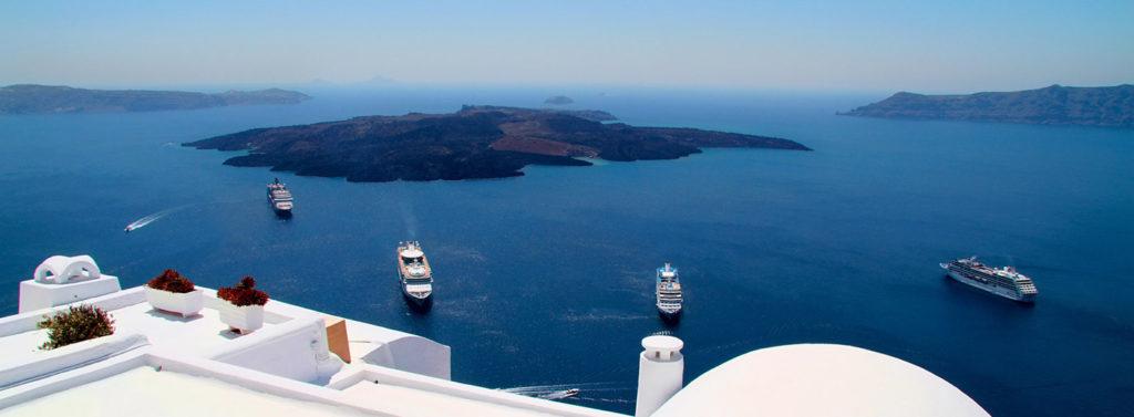 santorini volcano island